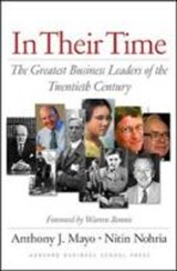 In Their Time | Mayo, Anthony J. ; Nohria, Nitin |