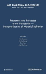 Properties and Processes at the Nanoscale - Nanomechanics of Material Behavior | auteur onbekend |
