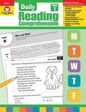 Daily Reading Comprehension, Grade 1 Te