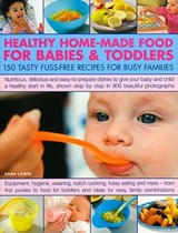 Healthy Home-Made Food for Babies & Toddlers | Sara Lewis |