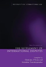 Settlement of International Disputes | auteur onbekend |