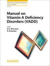 Manual on Vitamin A Deficiency Disorders (VADD) | auteur onbekend |