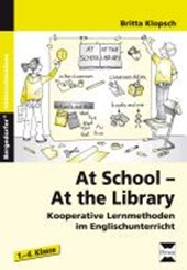 At School - At the Library