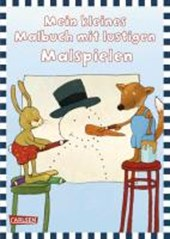 Mein kleines Malbuch: Lustige Malspiele