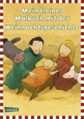 Mein kleines Malbuch: Weihnachtsgeschichte