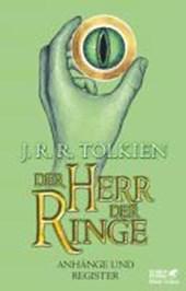 Der Herr der Ringe - Anhänge und Register Neuausgabe
