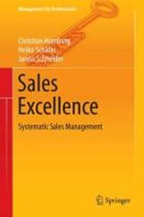 Sales Excellence | Christian Homburg |
