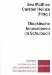 Didaktische Innovationen im Schulbuch