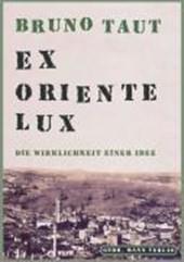 Bruno Taut. Ex oriente Lux
