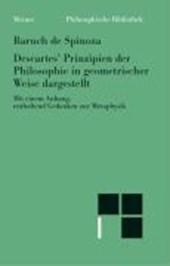 Descartes' Prinzipien der Philosophie in geometrischer Weise dargestellt