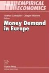 Money Demand in Europe | auteur onbekend |