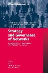 Strategy and Governance of Networks | auteur onbekend |