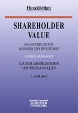 Shareholder Value | Alfred Rappaport |