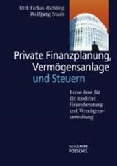 Private Finanzplanung, Vermögensanlage und Steuern