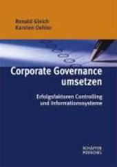 Corporate Governance umsetzen