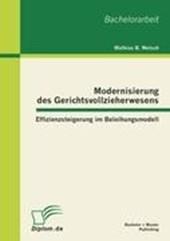 Modernisierung des Gerichtsvollzieherwesens: Effizienzsteigerung im Beleihungsmodell