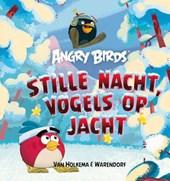 Angry birds stille nacht, vogels op jacht