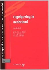 Studiepockets staats- en bestuursrecht Regelgeving in Nederland