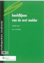 Studiepockets strafrecht Hoofdlijnen van de wet Mulder