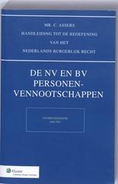 Asser NV en BV, Personenvenootschappen studenteneditie