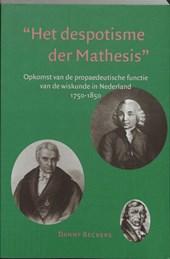 Het despotisme der Mathesis