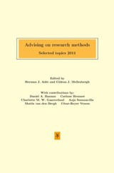 Advising on research methods | auteur onbekend |