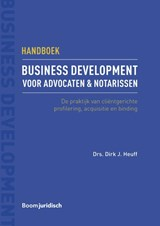 Handboek business development voor advocaten & notarissen | Dirk Heuff |