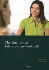 The qualitative interview | Jeanine Evers ; Fijgje de Boer |