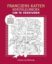 Franciens katten kerstkleurboek