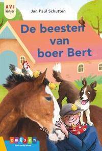 De beesten van boer Bert | Jan Paul Schutten |