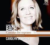 Cantatas for soprano | Sampson, Carolyn | 3149020225226