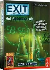 EXIT Het Geheime Lab - Escape Room | Spel | 8719214422646