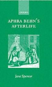Aphra Behn's Afterlife