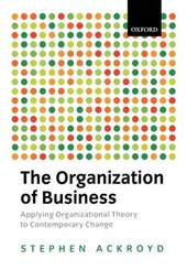 The Organization of Business