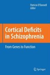 Cortical Deficits in Schizophrenia