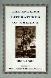 Jehlen, M: English Literatures of America