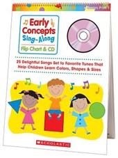 Early Concepts Sing-Along Flip Chart