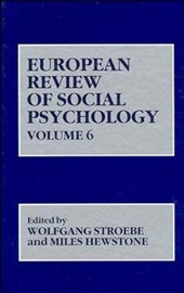 European Review of Social Psychology, Volume