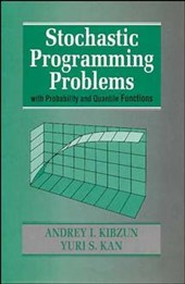 Stochastic Programming Problems with Probability and Quantile Functions