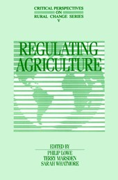 Regulating Agriculture