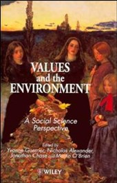 Values and the Environment