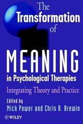 The Transformation of Meaning in Psychological Therapies
