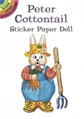 Peter Cottontail Sticker Paper Doll