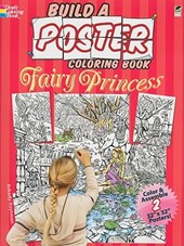 Build a Poster Coloring Book--Fairy Princess