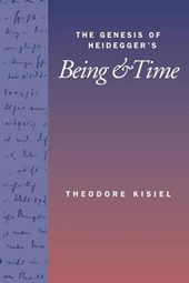 Genesis of Heidegger's <i>Being and Time</i>