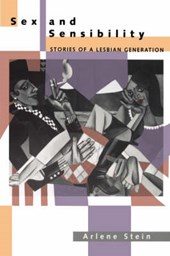 Sex & Sensibility - Stories of a Lesbian Generation (Paper)