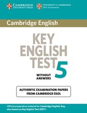 Cambridge Key English Test 5 Student's Book without answers