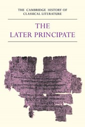 The Cambridge History of Classical Literature: Volume 2, Latin Literature, Part 5, The Later Principate