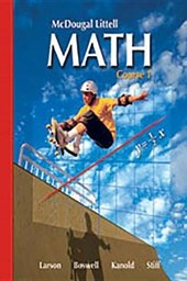 Math Course 1, Grade 6 Practice Workbook Se