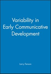 Variability in Early Communicative Development